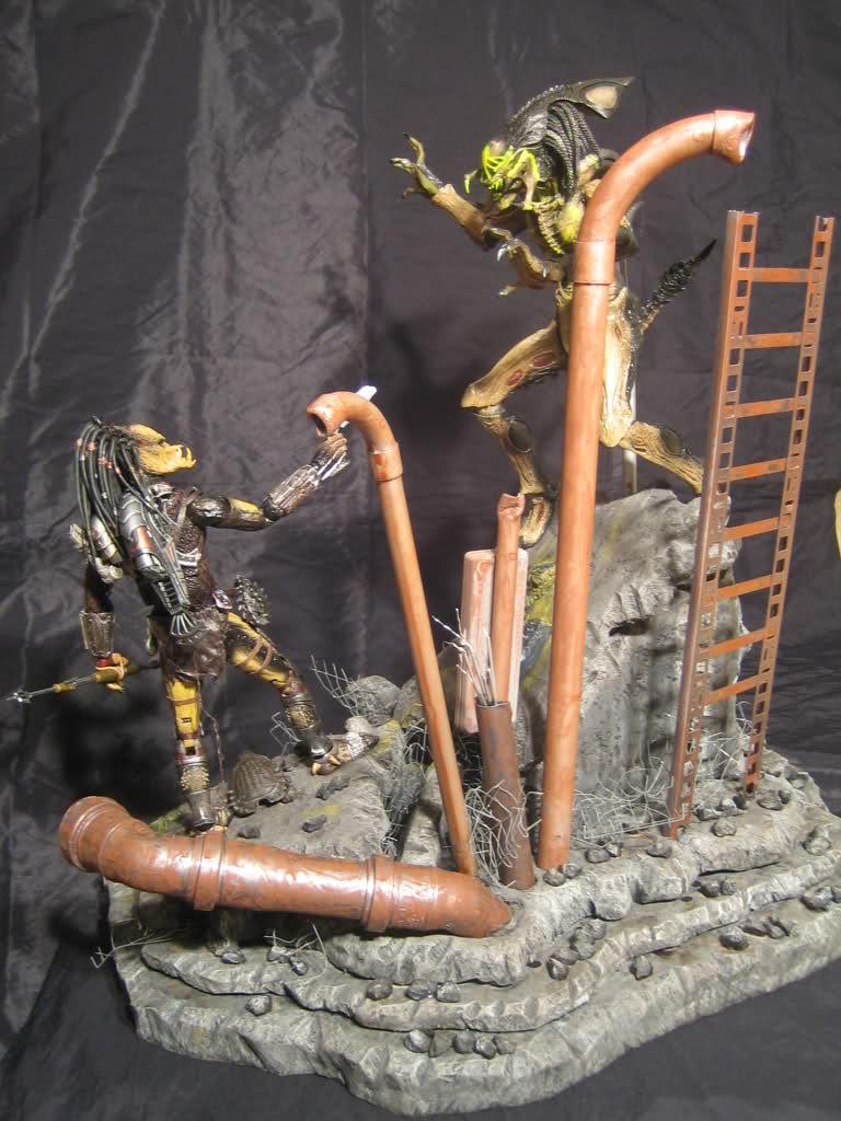 Diorama Alien&Predator. 2nm0pq10
