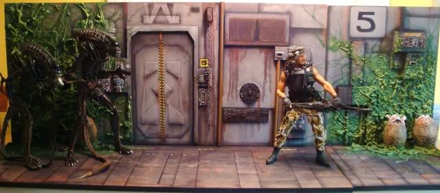 Diorama Alien&Predator. Dsc04310