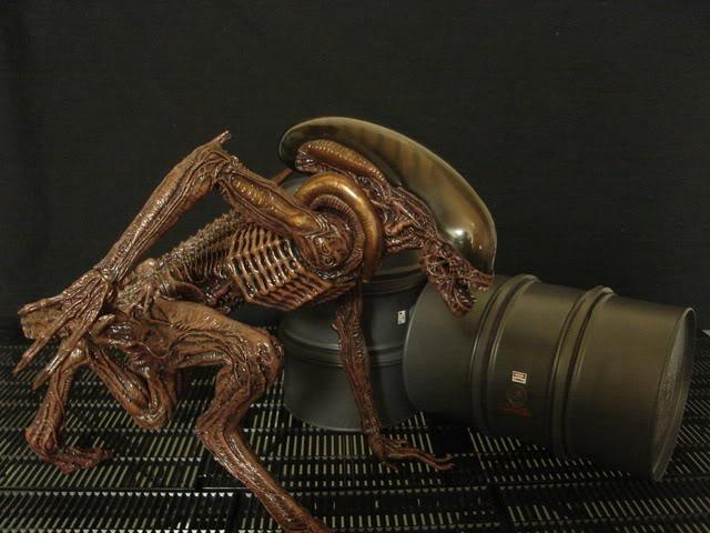 Diorama Alien&Predator. Dsc06810