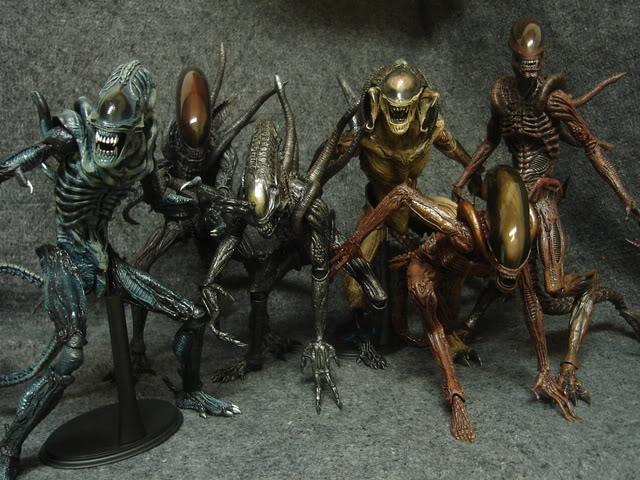 Diorama Alien&Predator. Dsc06812