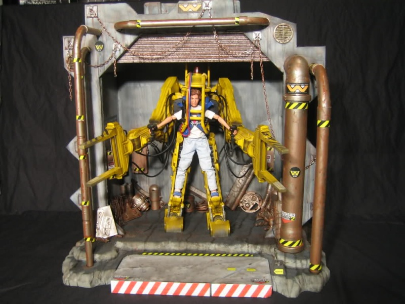 Diorama Alien&Predator. Jqsyg010