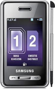 Samsung-D980-Dual-Sim 20090910
