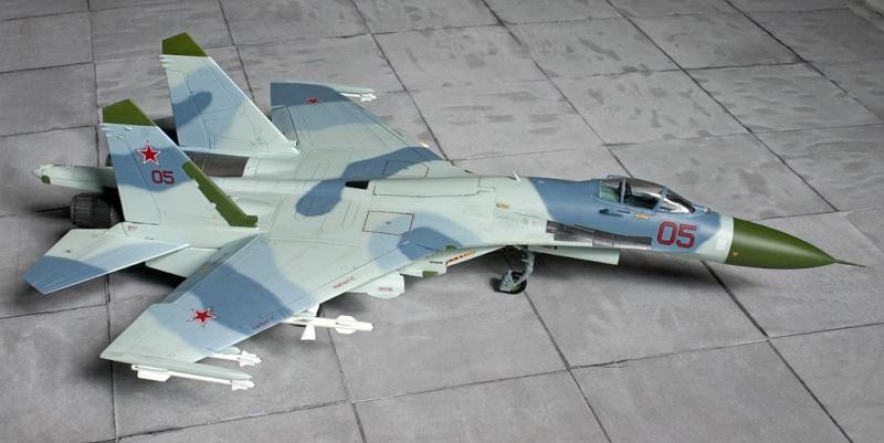 Airfix Su-27 & Berkut Su-35 4345_a10