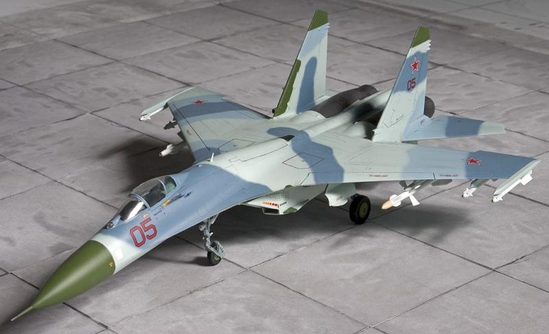 Airfix Su-27 & Berkut Su-35 4348_a10