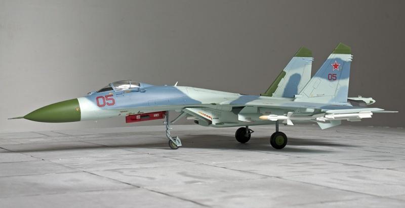 Airfix Su-27 & Berkut Su-35 4359_a11