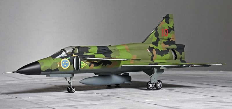Heller 1/72nd Saab Viggen 4361_h10