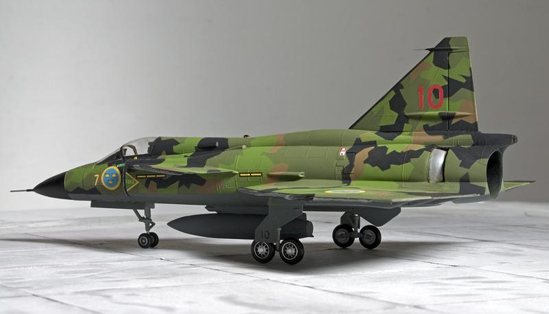 Heller 1/72nd Saab Viggen 4362_h10