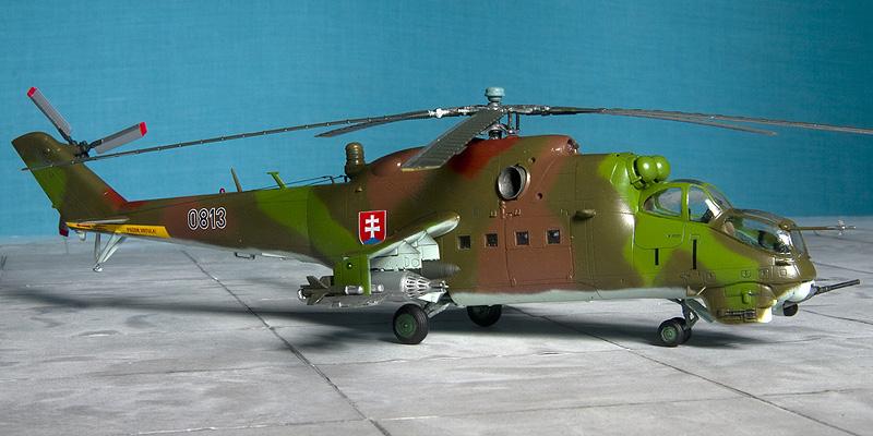 Italeri & HobbyBoss Mi-24 hinds 8022_s10