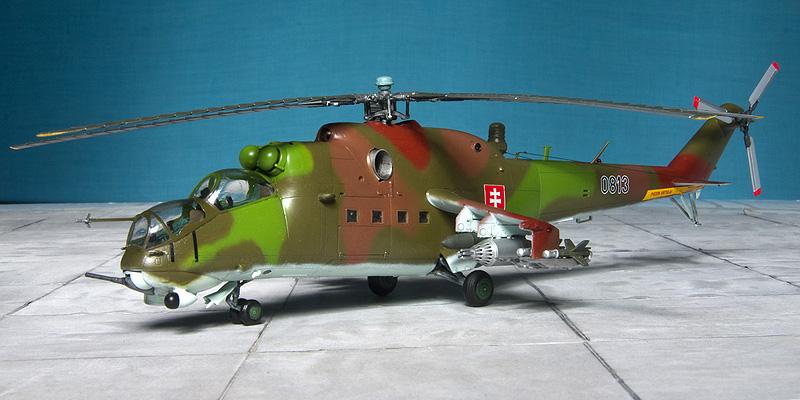 Italeri & HobbyBoss Mi-24 hinds 8031_s10