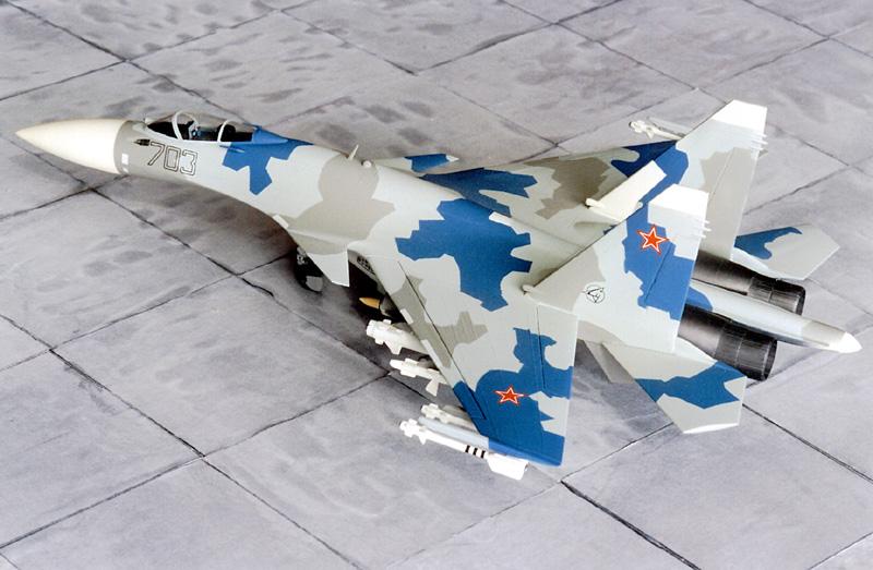 Airfix Su-27 & Berkut Su-35 Su-35-10
