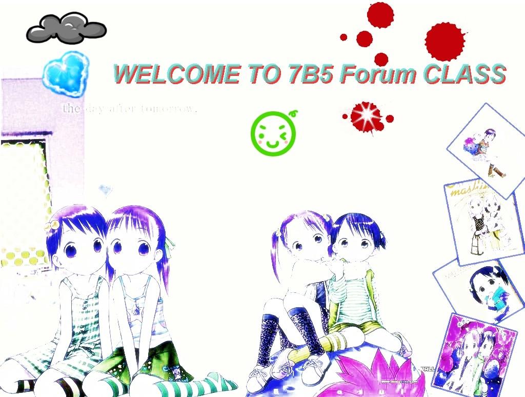 Forum lớp 7B5