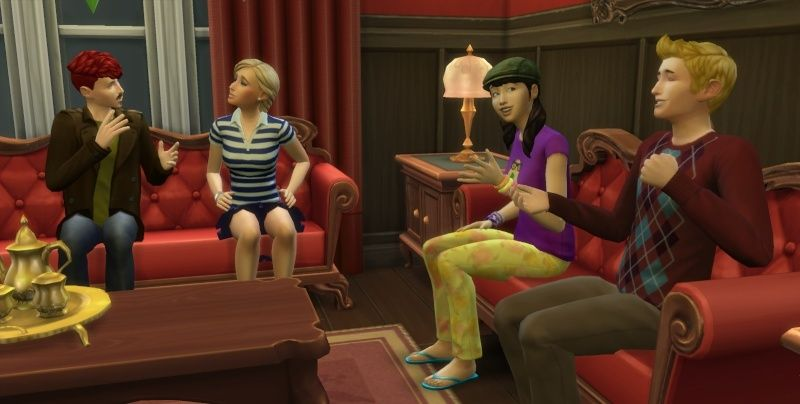 The Collector: A Sims 4 Time Lord Challenge Endeavor 11-22-14