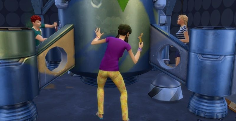 The Collector: A Sims 4 Time Lord Challenge Endeavor 11-23-10