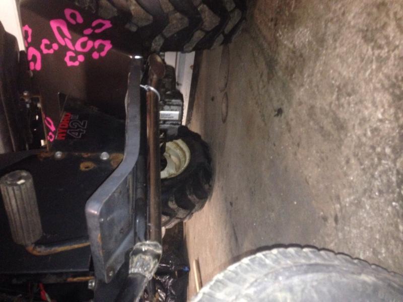 pink cheetah tractor build. Image10