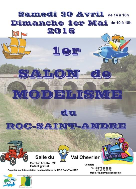 Roc Saint André les 5 et 6 mai 2018 Affich11