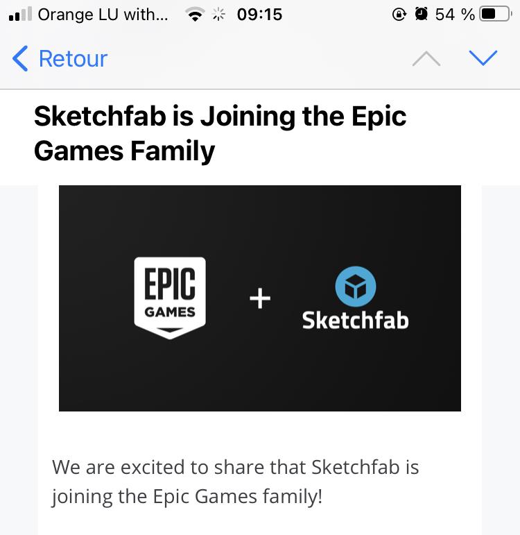 [ AUTRES LOGICIELS ] Sketchfab fait désormais partie d'Epic Games Img_4c10