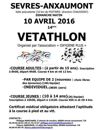Vétathlon Sèvres-Anxaumont (86) 10 avril 2016 Screen13