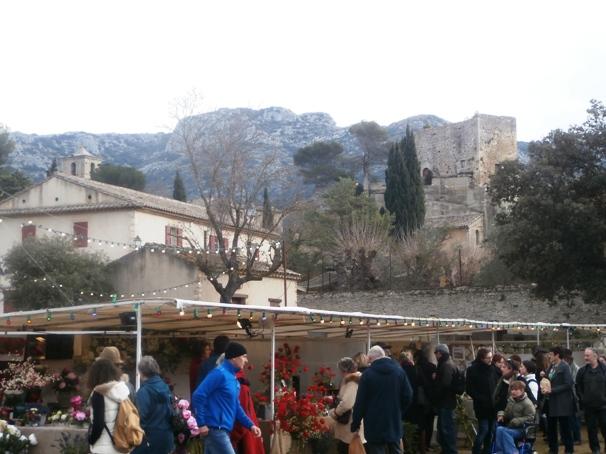 Marché de Noel provencal Monmar10