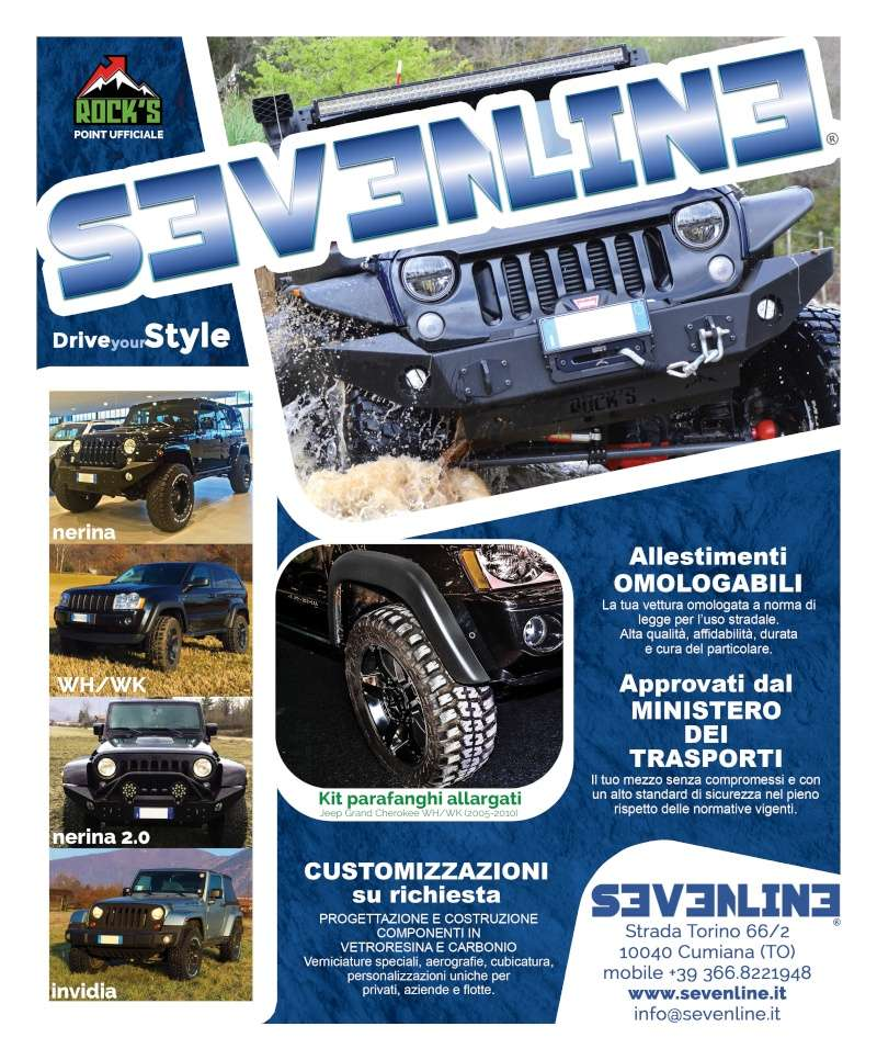 SEVENLINE: nuovo Rock's Point Piemonte Pagina10