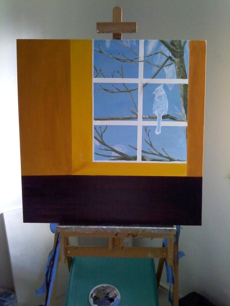 Bird in the window Bird_i10