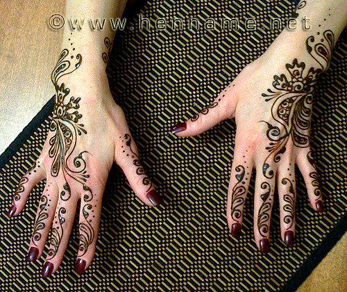Искусство рисования хной - мехенди, менди, mehndi - Страница 4 24614_20