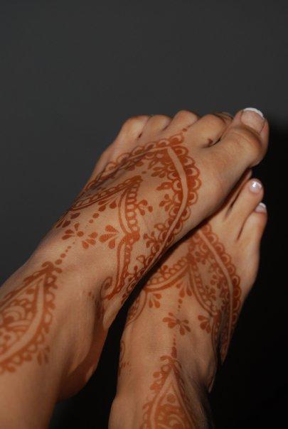Искусство рисования хной - мехенди, менди, mehndi - Страница 2 X_480010