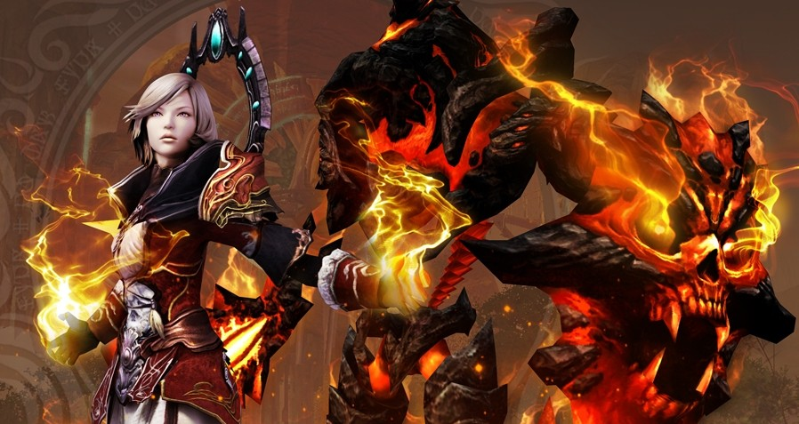 Сайт легиона Burning Legion бесплатного проекта игры Aion: The Tower of Eternity