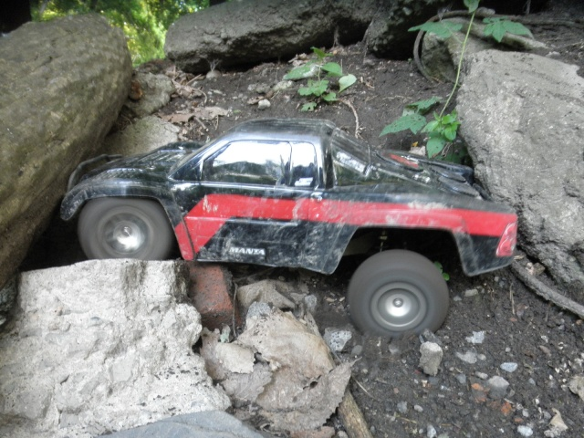Stuck between a rock... P6180610