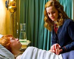 "Ron ♥ Hermione (Harry Potter) #1 Parce que...""so its now or never, isn't it?"" Rhrl110"