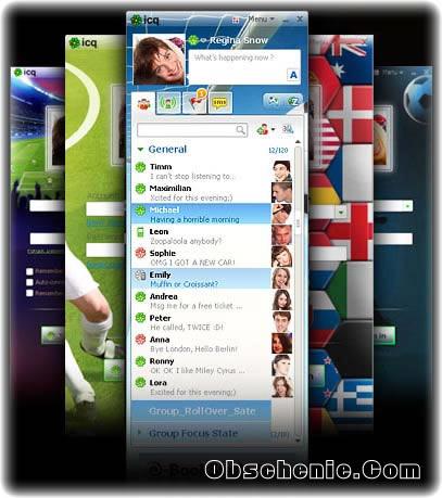Футбольные скины для ICQ 7.2 Skins_10