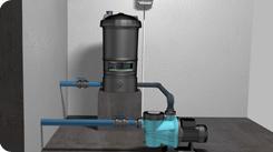 Documentation et mode d'emploi sur La filtration classique Filtra10