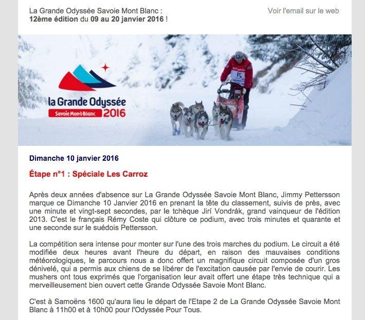 La GRANDE ODYSSÉE 2016 Eitape10