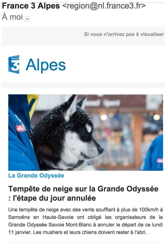 La GRANDE ODYSSÉE 2016 Eitape11