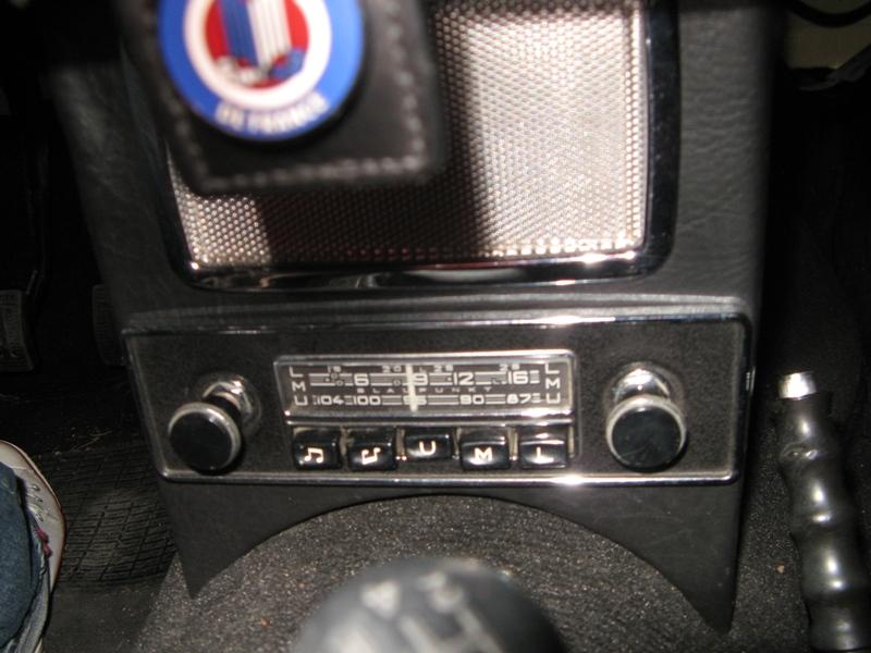 Autoradio Triumph TR3 Autora14