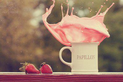 Hum un bon lait fraise :) 54663710