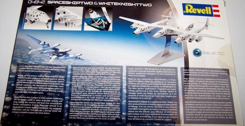 Whiteknighttwo und Spaceshiptwo von Revell. 100_1910