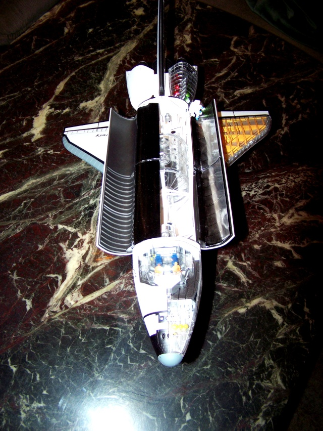 Space-Shuttle Cutaway Snap-Kit in 1:72. Der Zusammenbau. 100_1916