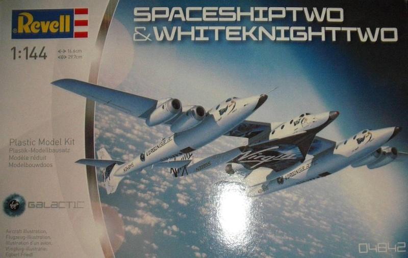 Whiteknighttwo und Spaceshiptwo von Revell. Dscf3410