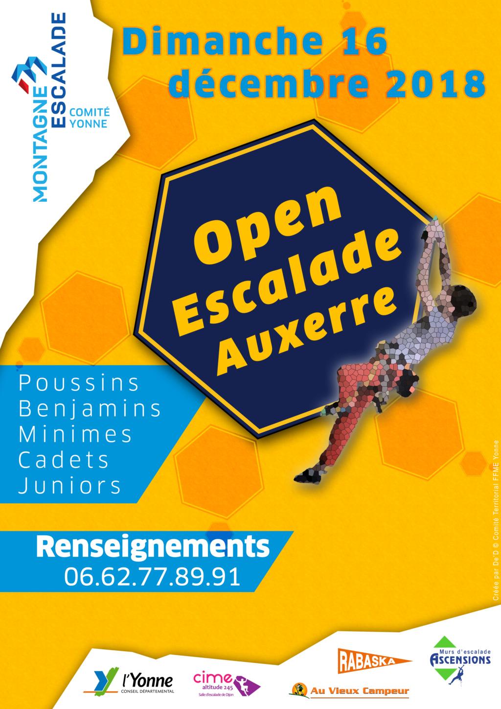 Open d'Auxerre, dimanche 16 décembre 208 Affich12