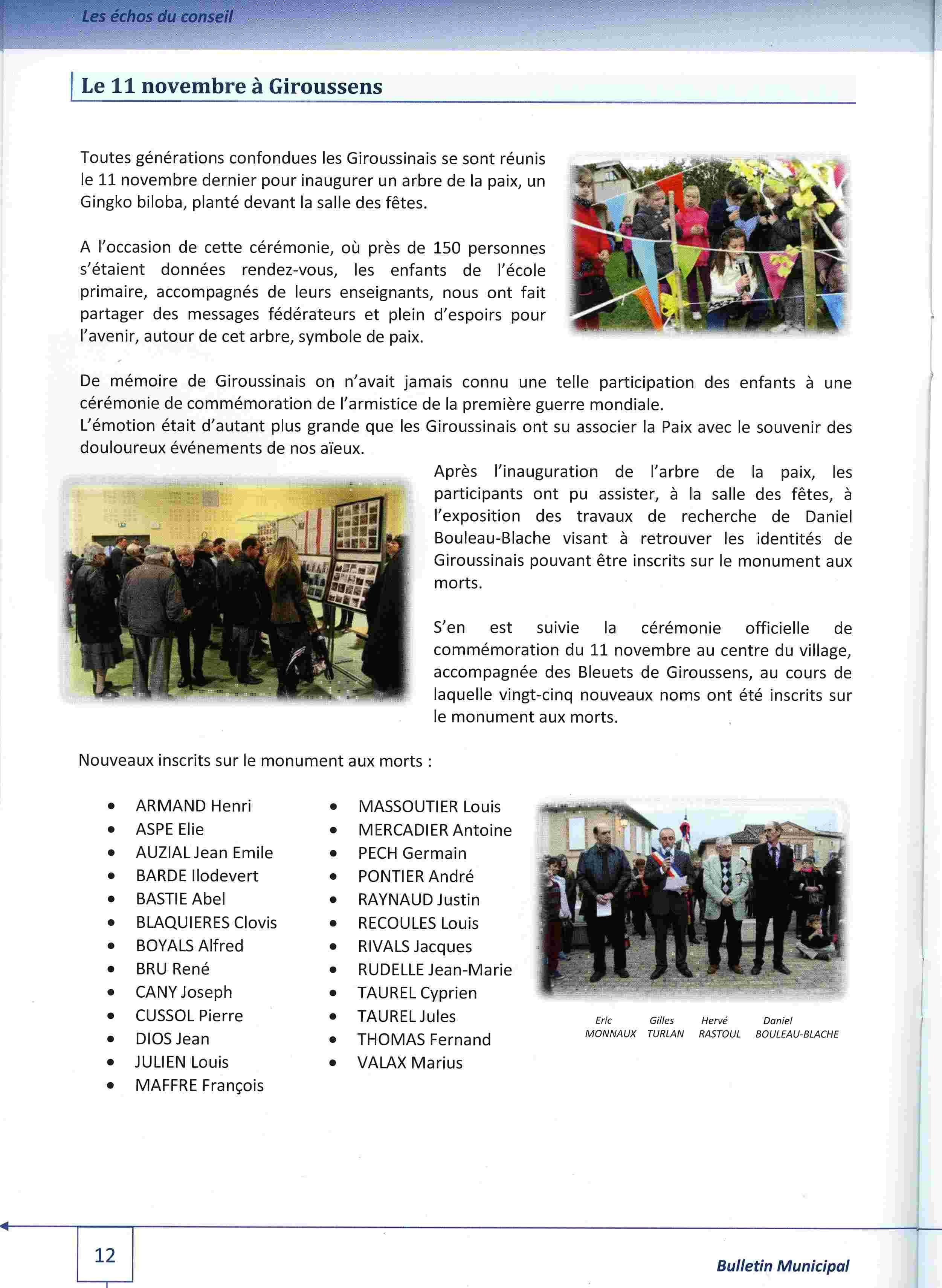 [ Histoires et histoire ] LE CENTENAIRE DE LA GRANDE GUERRE - Page 3 Img26211