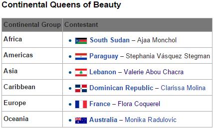 ★ MISS MANIA 2015 - Flora Coquerel of France !!! ★ - Page 3 Aaaaaa10
