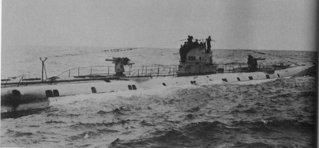 Le U-93 du Baron Edgar von Spiegel U9310