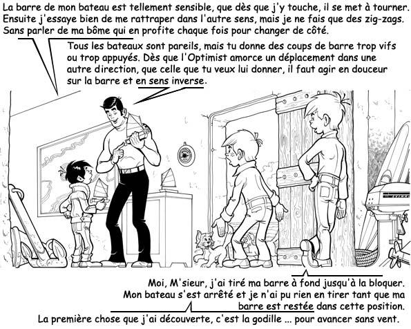 Raoul Giordan : Initiation à l'Optimist Raoul107