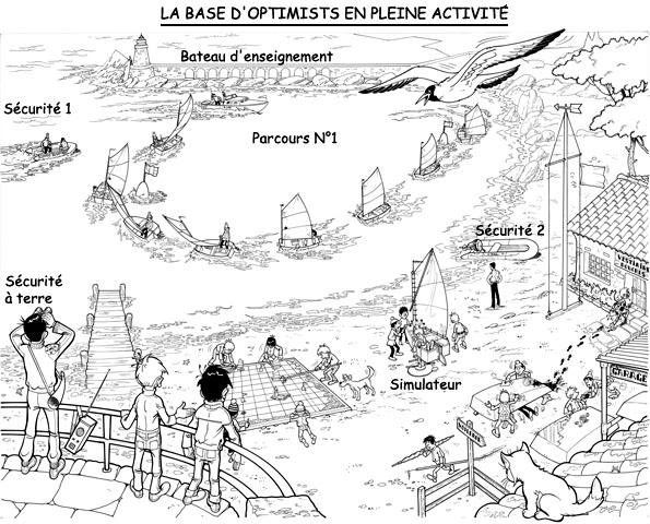 Raoul Giordan : Initiation à l'Optimist Raoul108