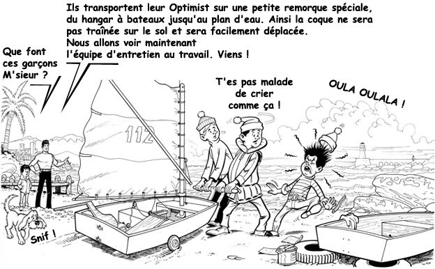 Raoul Giordan : Initiation à l'Optimist Raoul_74
