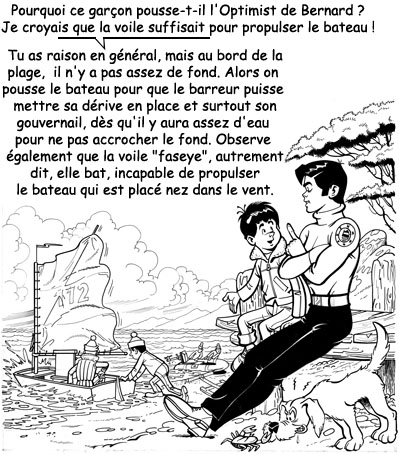 Raoul Giordan : Initiation à l'Optimist Raoul_75