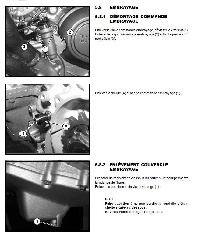 Adaptation commande d' embrayage hydraulique sur TREK Embray10