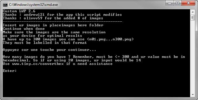 [TUTO]Créer son propre fond d'écran animé Bicon011