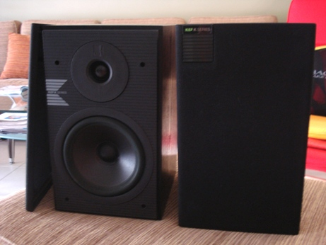 Kef K120 speakers original England Dsc03323