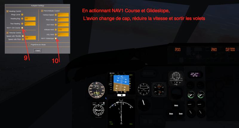 Tuto approche et atterrissage ILS Captur14